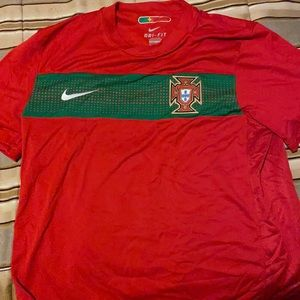 Authentic Nike Portugal Jersey